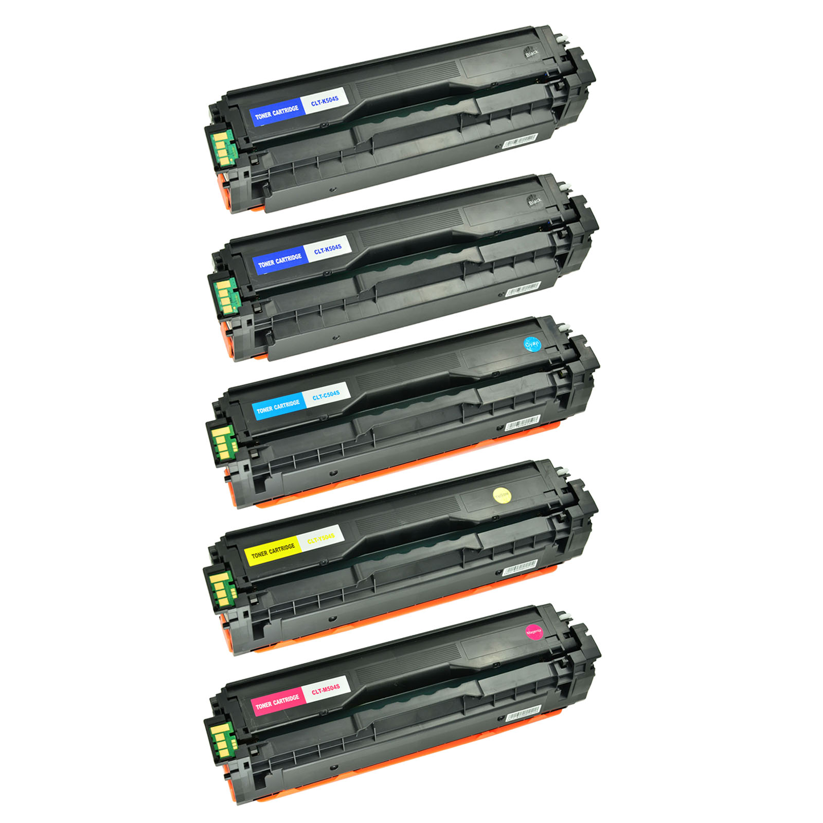 CLT-504S BCMY Toner Cartridges for Samsung SL-C1860FW CLX-4195FW CLP-415NW 475