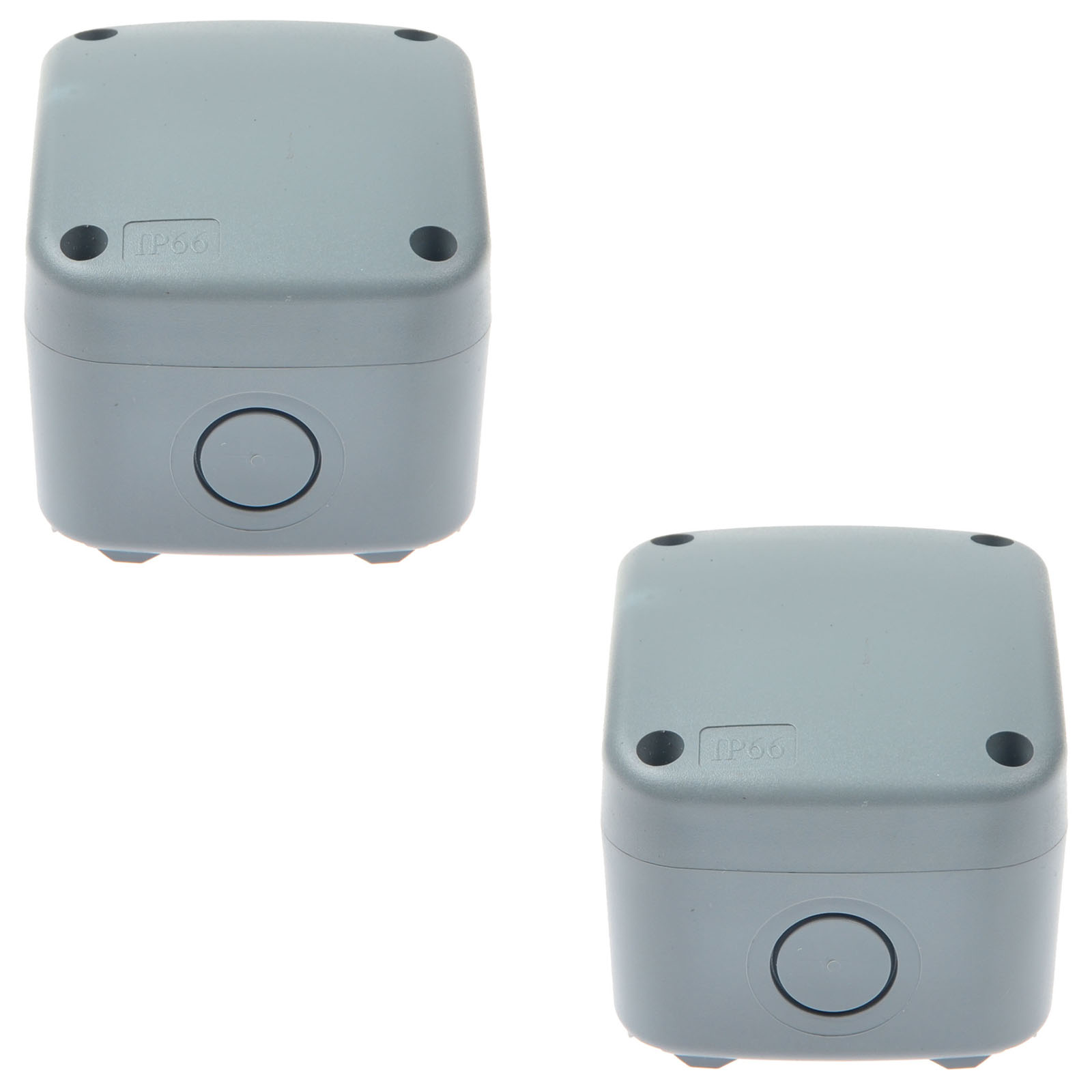 2 Pack Weatherproof Junction Box Cable Switch Connection Enclosure ...