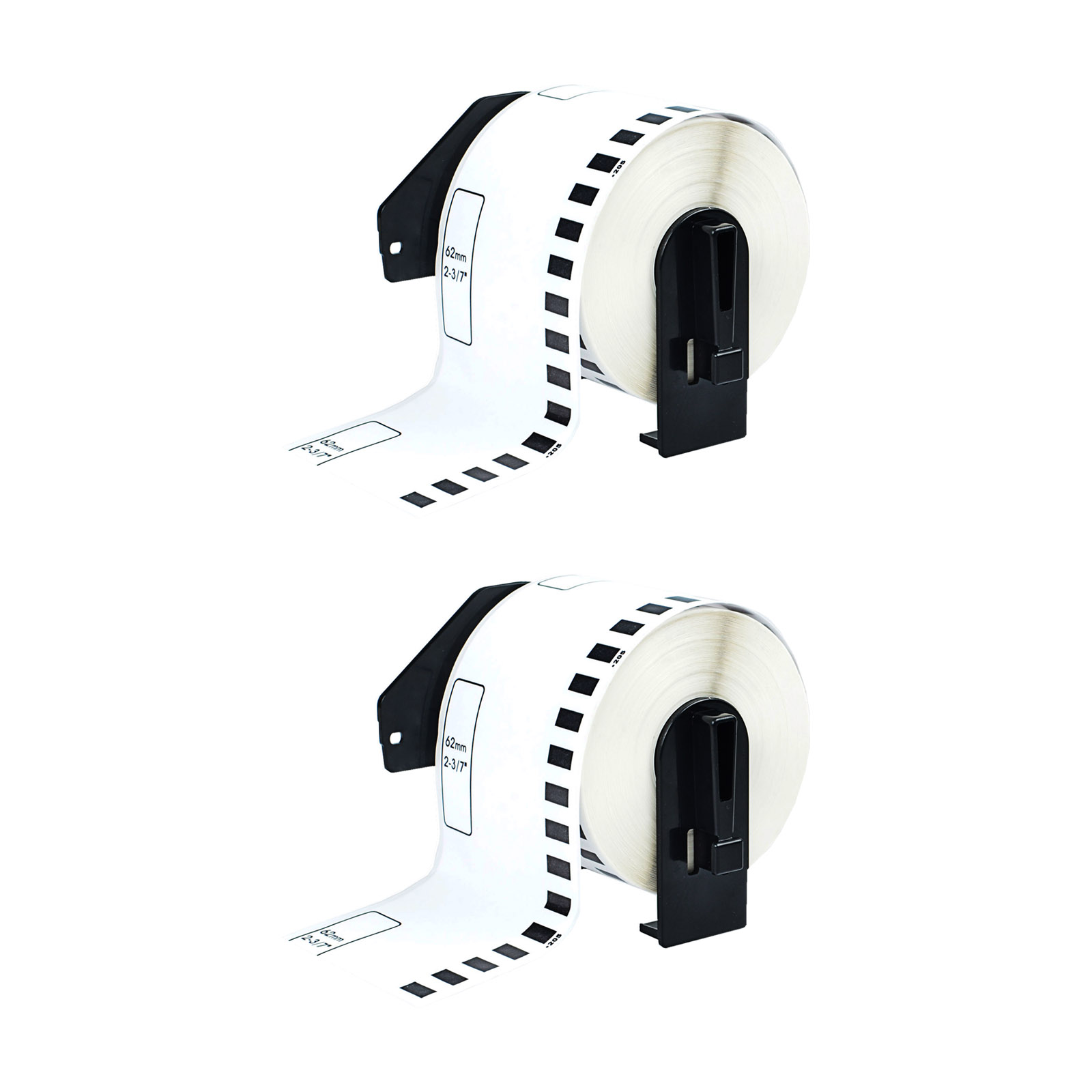 5 Roll 2-7//16 x 105ft 62mm DK-2205 Continuous Label Compatible Brother® QL-570