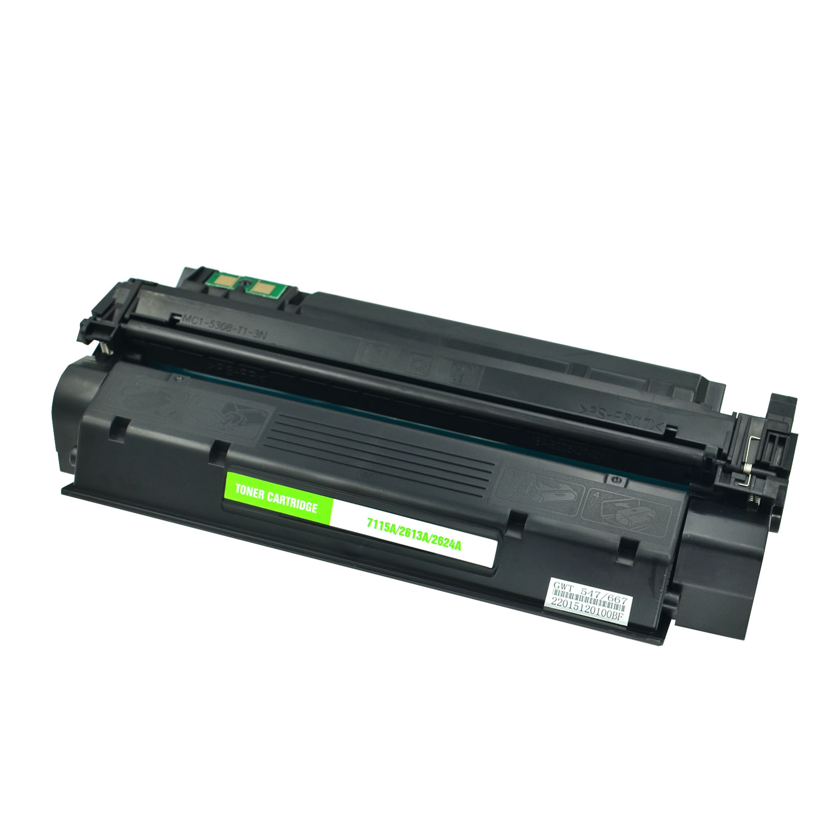 LaserJet 1200 1200n 12 5PK Compatible C7115X HY Black Toner Cartridge for HP