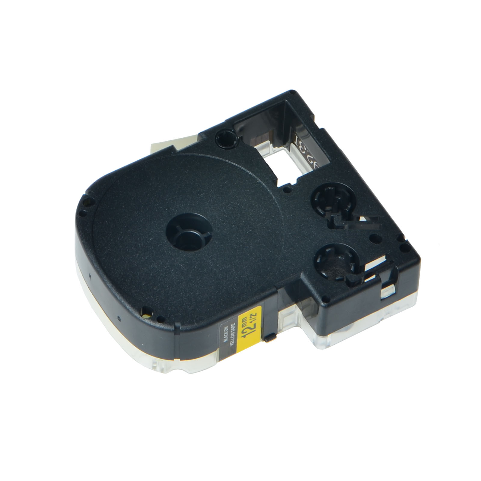 """for EPSON12mm LC-4YBP Label tape Black on Yellow 12mm 8m 1//2 x 26/"""" SR230C LW400"""