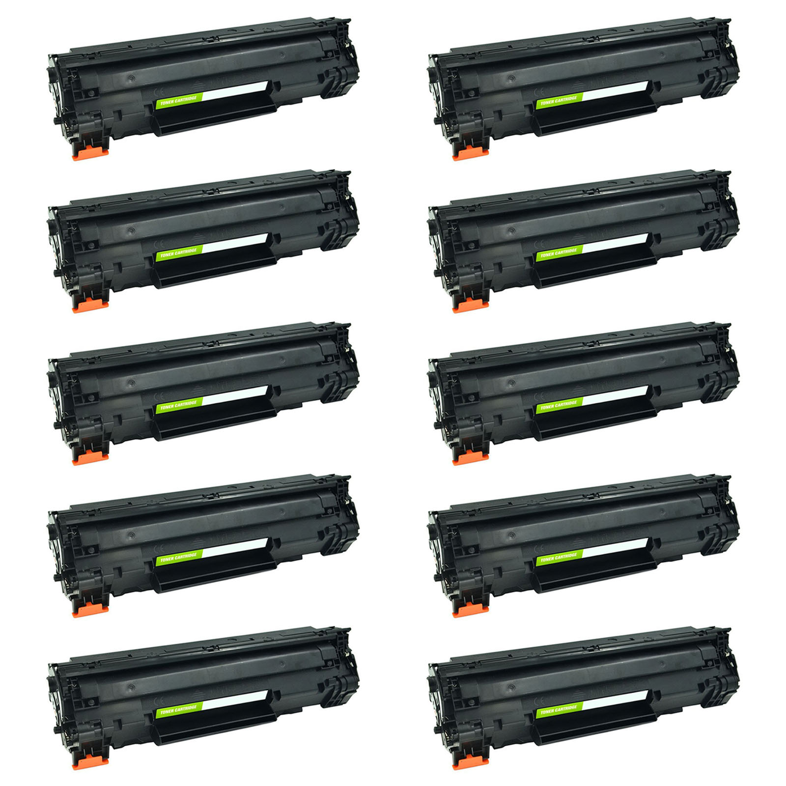 5 Pack CB436A 36A Black Toner Cartridge For HP LaserJet M1120 M1522 MFP P1505