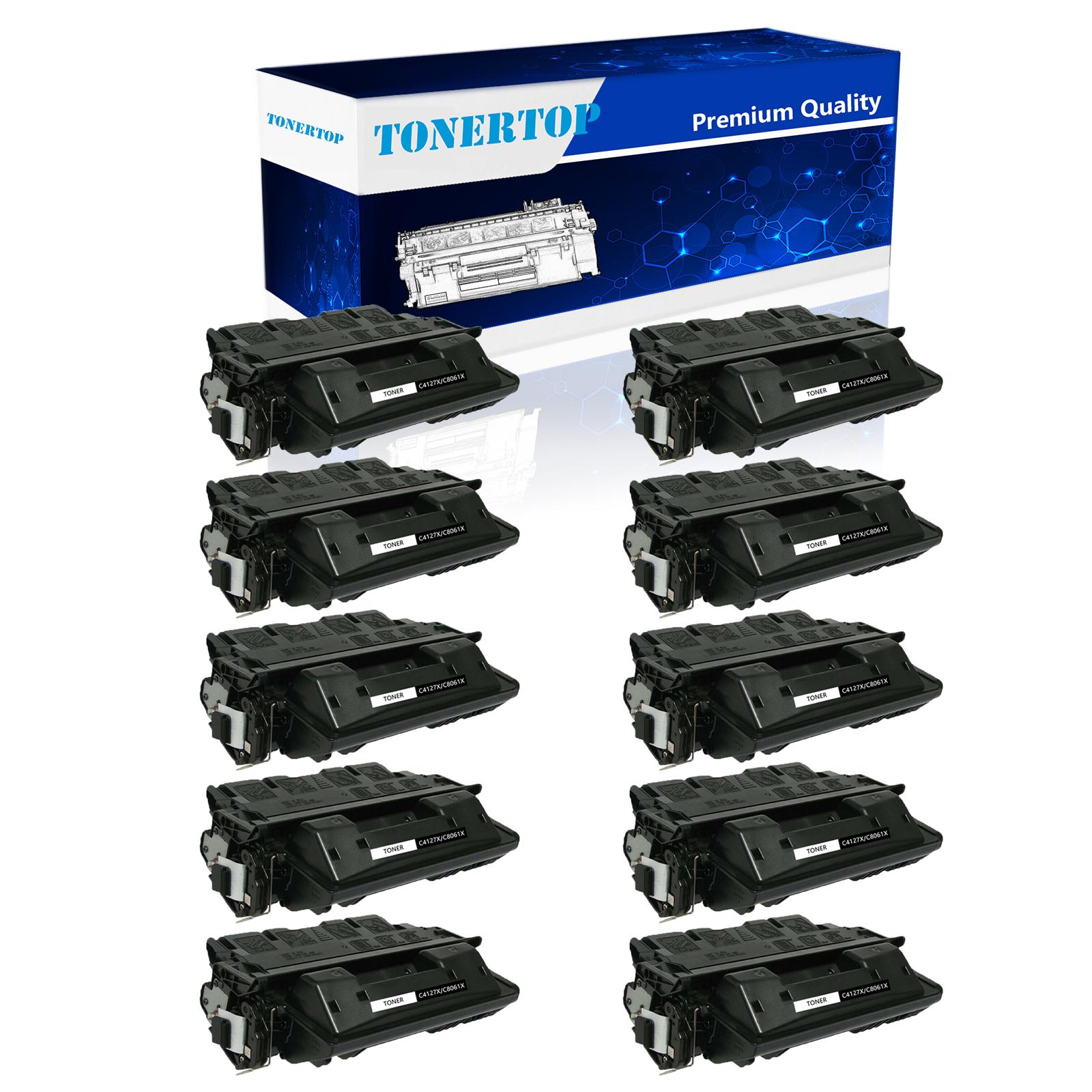 6 PK C4127X  27X Toner Cartridge High Yield Compatible For HP LaserJet 4000 4050
