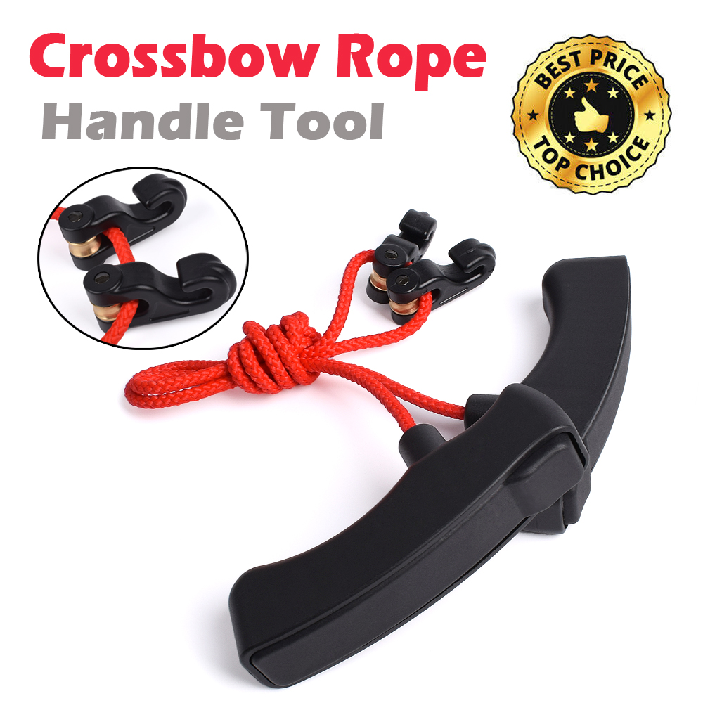1 Cocking Device Crossbow Rope Archery Hunting Shooting Assist Tool Easy Use