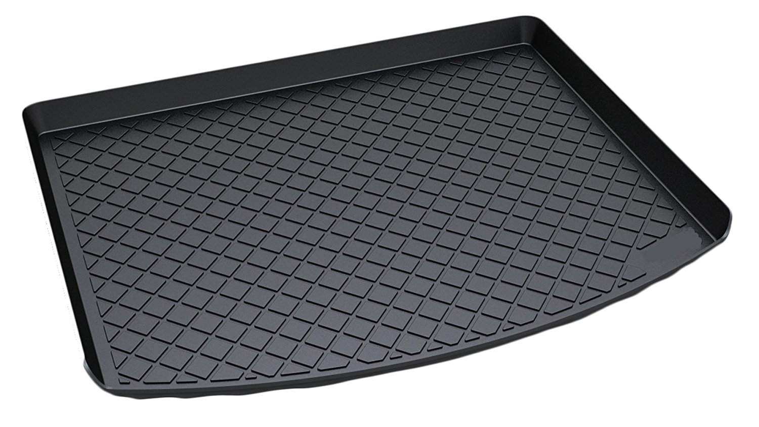 heavy duty trunk cargo liner floor mat all weather for 2013 to 2017 ford escape ebay. Black Bedroom Furniture Sets. Home Design Ideas