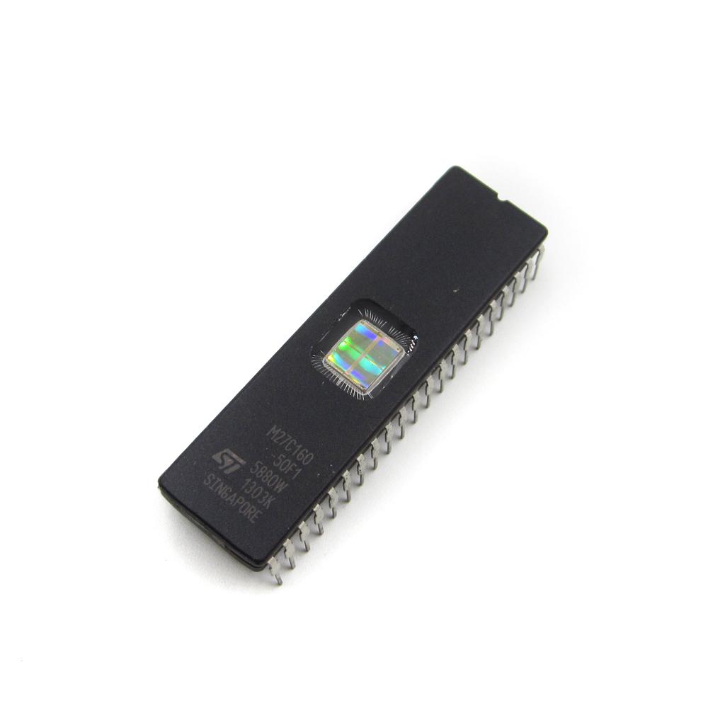 10PCS NEU M27C160-50F1 ST IC EPROM UV 16MBIT 100NS 42CDIP M27C160
