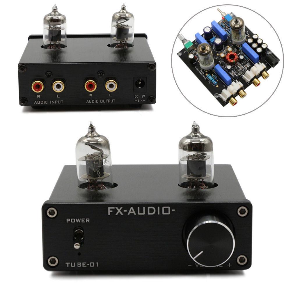 Details about DC12V Audio Mini 6J1 Valve & Vacuum Tube Pre Amplifier Stereo  HiFi Buffer Preamp