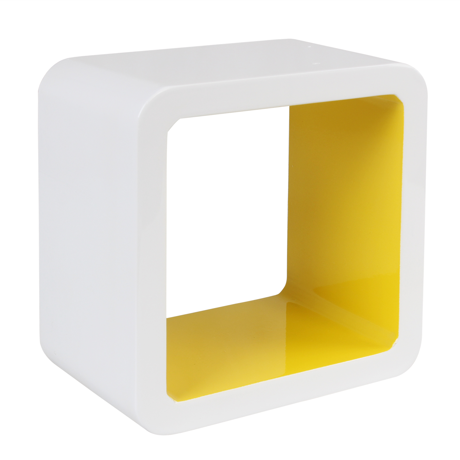 Contemporary Decorative Cube Wall Shelves Ensign - Wall Art ...