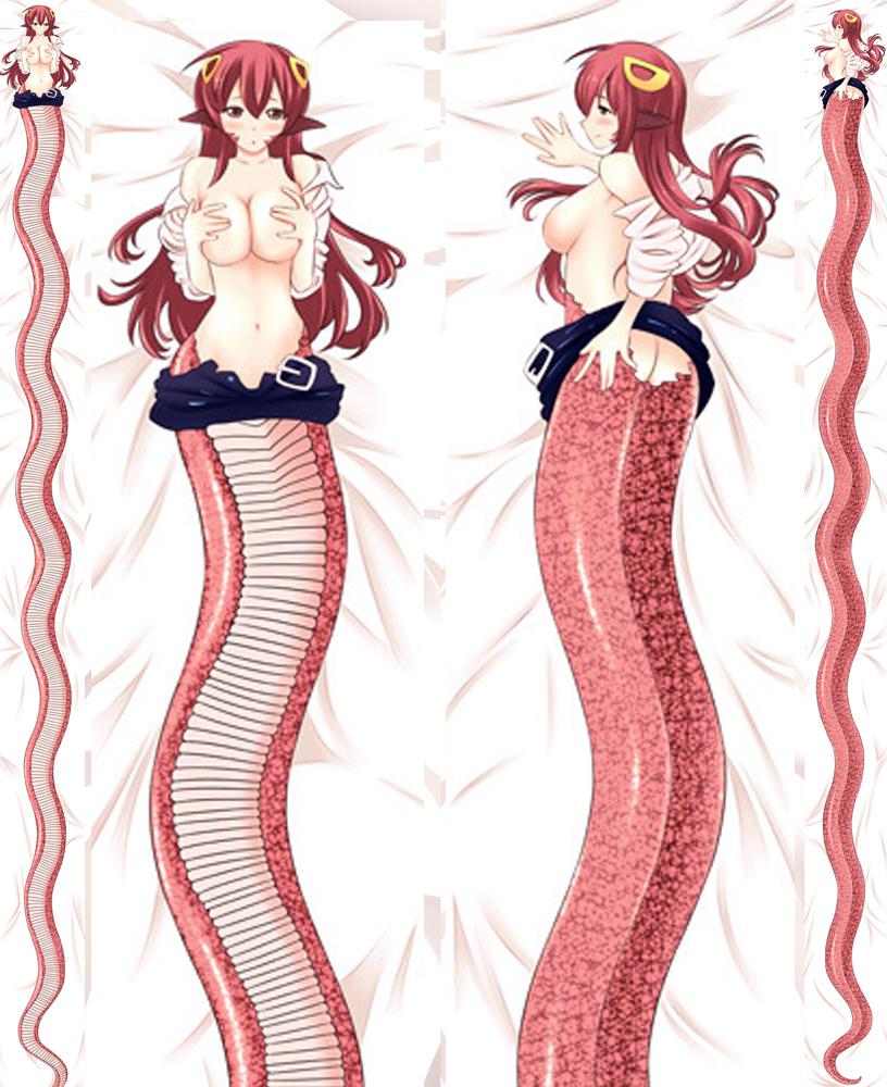 700cm miia monster musume dakimakura hugging body pillow cover ebay