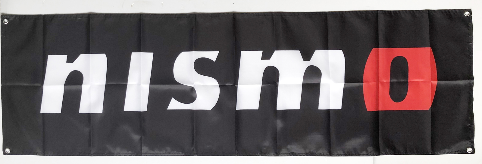 Momo Flag Banner Black 1.5X5ft//2x8ft Advertising CaveRacing Polyester//#32