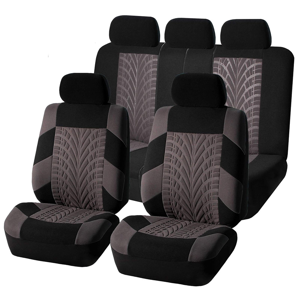 Pleasing Details About Car Seat Cover For Auto Split Bench Gray Compatible 50 50 40 60 60 40 Rear Ben Dailytribune Chair Design For Home Dailytribuneorg