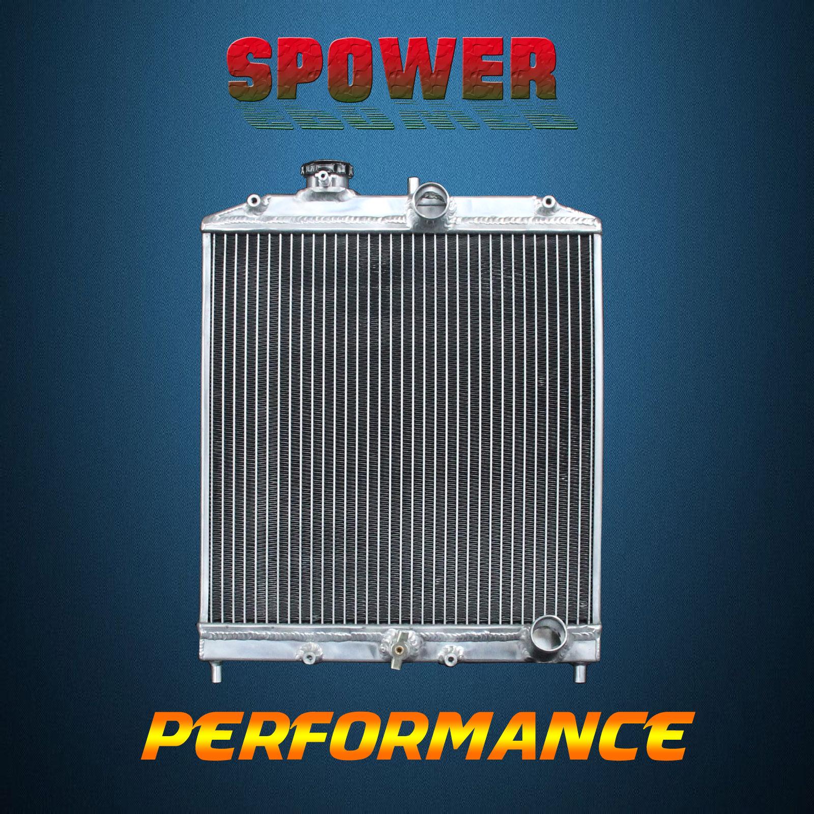 2-Row//CORE Aluminum Radiator For Mitsubishi Lancer DE ES LS L4 AT MT 02-07