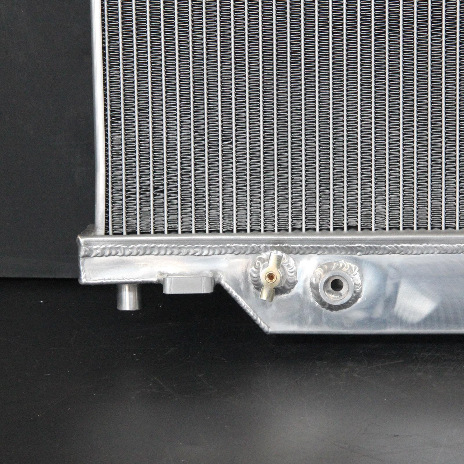 Aluminum Radiator Fit 03 04-07 Ford F-250//F-350//F-450//F-550 V8 6.0L Powerstroke