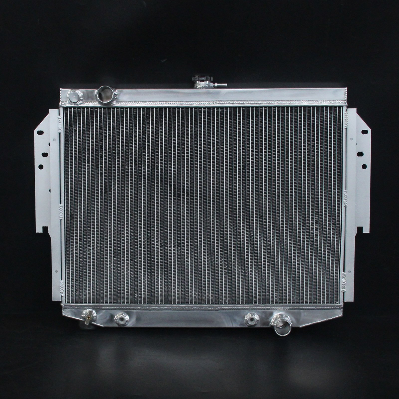2-Row/CORE Aluminum Radiator For Chrysler Cordoba LeBaron Dodge