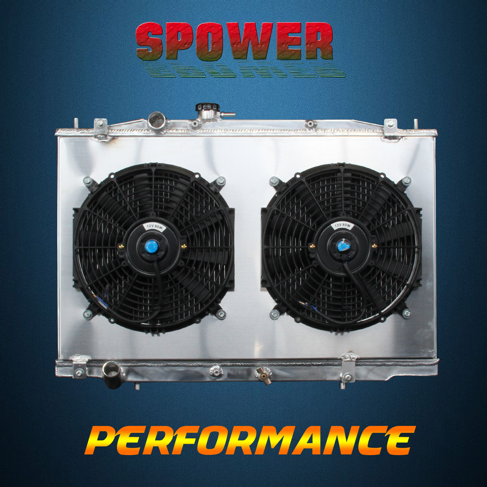 Fan Shroud For Ford Explorer V6 AT MT 00-01 2-Row//CORE Aluminum Radiator