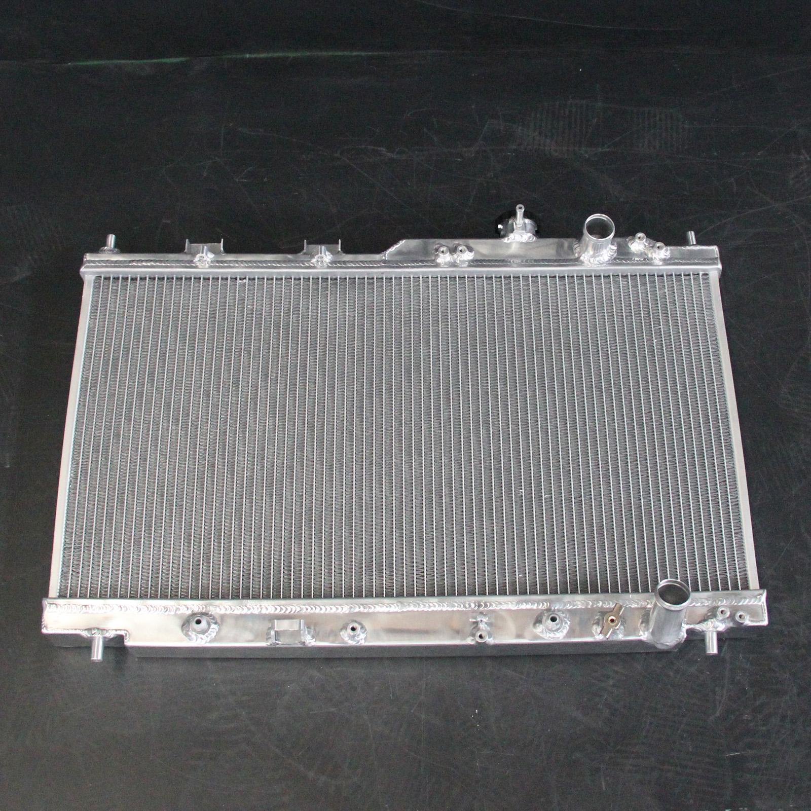 2-Row/CORE Aluminum Radiator For Acura Integra L4 AT MT 94