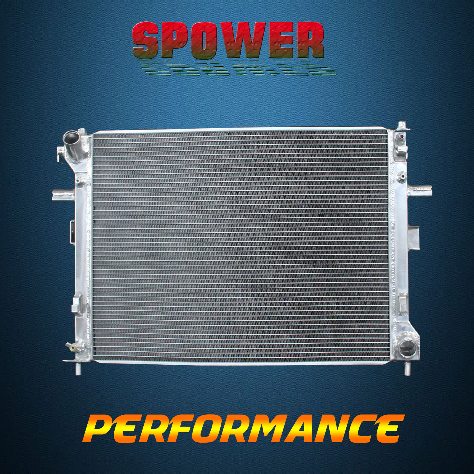 Aluminum Radiator For Ford Crown Victoria Lincoln Town Car V8 4.6L ...