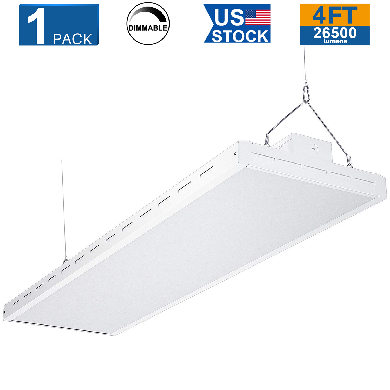 120W 165W LED Shop Lights for Warehouse Garage 2FT Linear LED High Bay Light