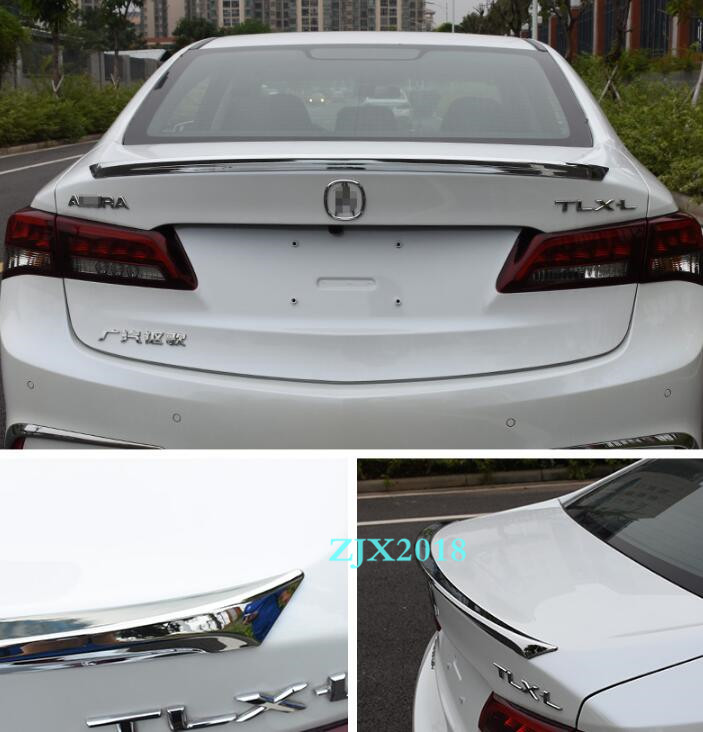 2 Style For 2015- 2020 Acura TLX ABS Rear Tail Trunk