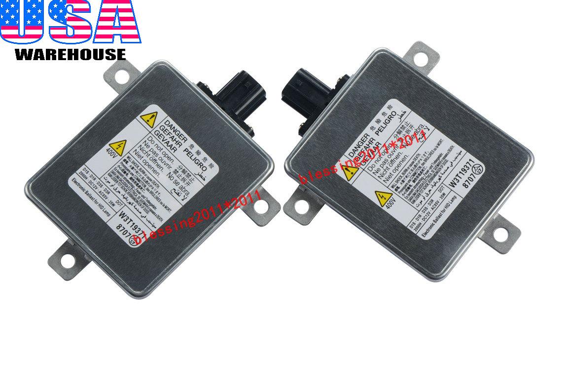 2x Xenon Ballasts Headlight Hid Control Unit Module For 2007 2012 Acura Tsx Tl 614993050425 Ebay