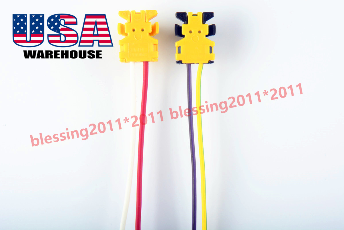 FITS-DODGE CHARGER AIRBAG CLOCKSPRING PLUGS WIRE CONNECTOR NEW 2PC AAA