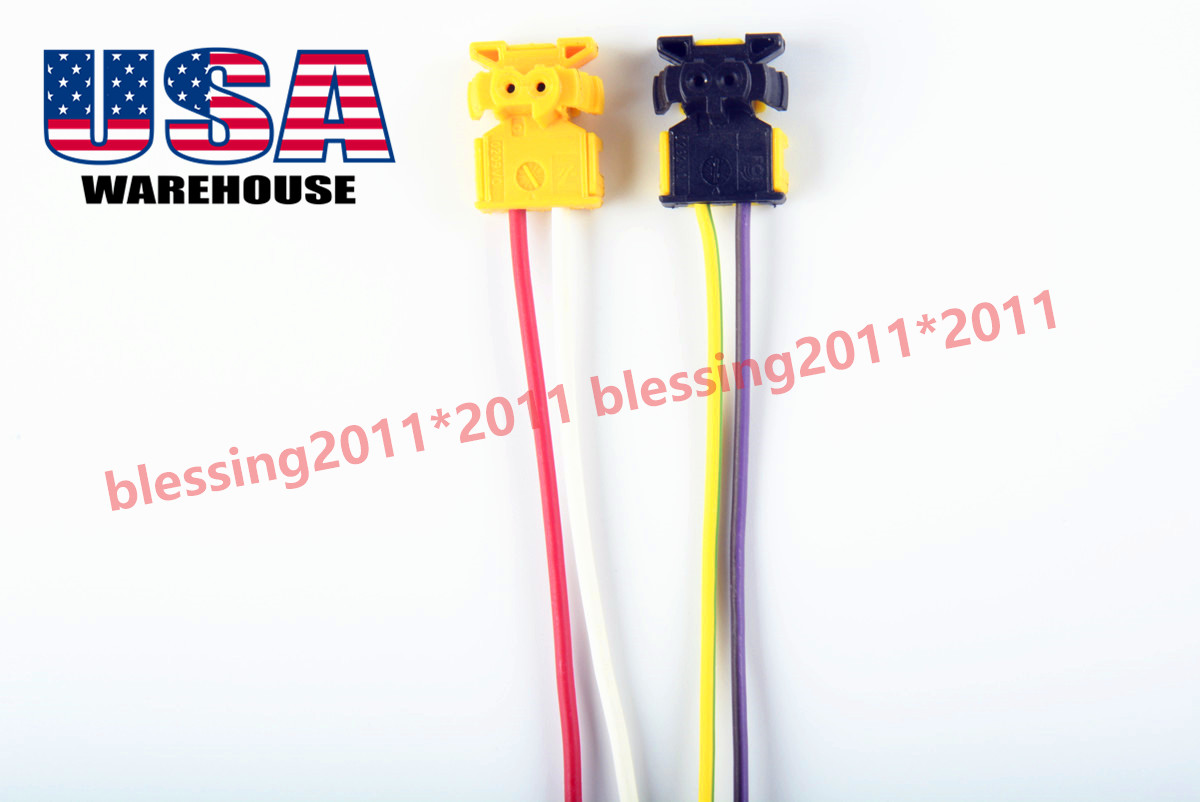 Fits Dodge Ram 1500 Airbag Clockspring Plugs Wire Connector New Aaa Truck Wiring Color Code 2pc