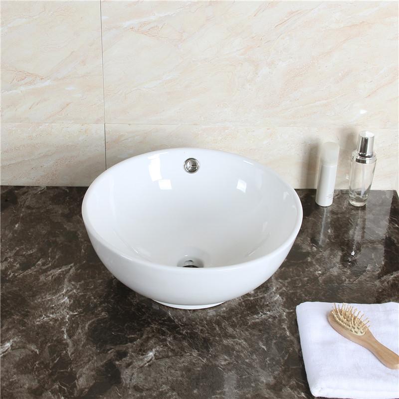 keramik waschbecken waschtisch aufsatz waschschale bad aufsatzwaschbecken weiss ebay. Black Bedroom Furniture Sets. Home Design Ideas