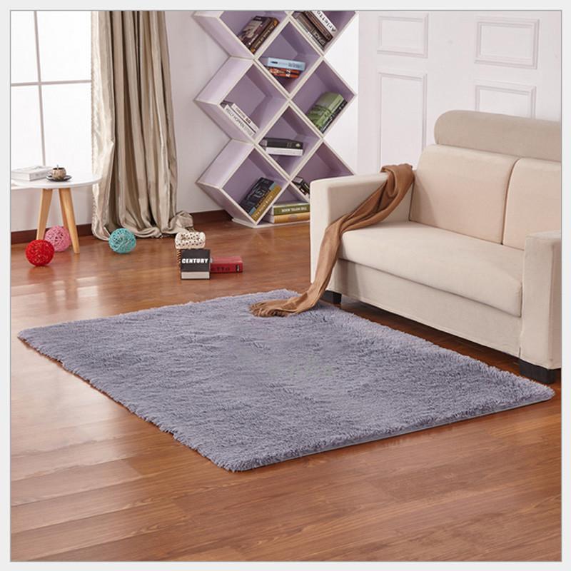 Charming Warm Hot 80*120cm Living Room Floor Mat Cover Carpets Floor Rug Soft Area  Rug