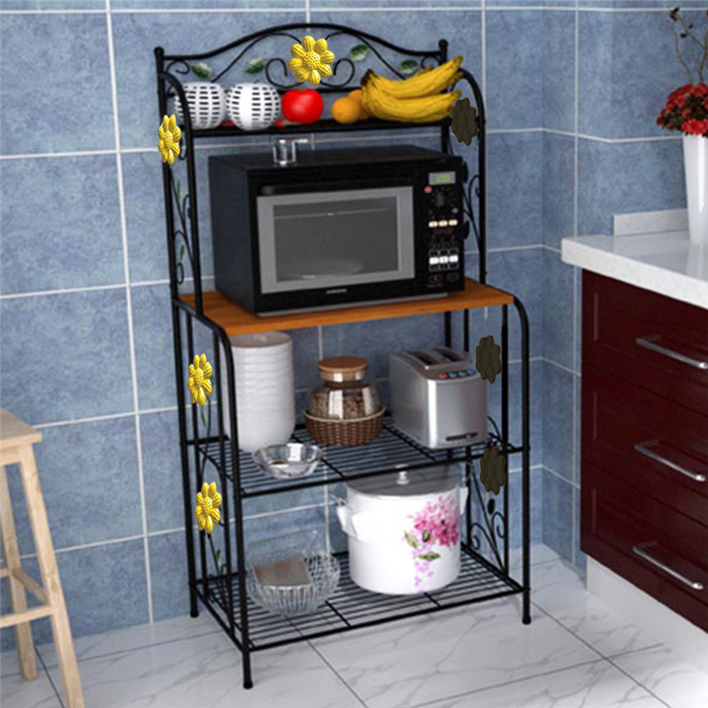 4 Layers Microwave Oven Shelf Rack Stand Kitchen Storage Holders