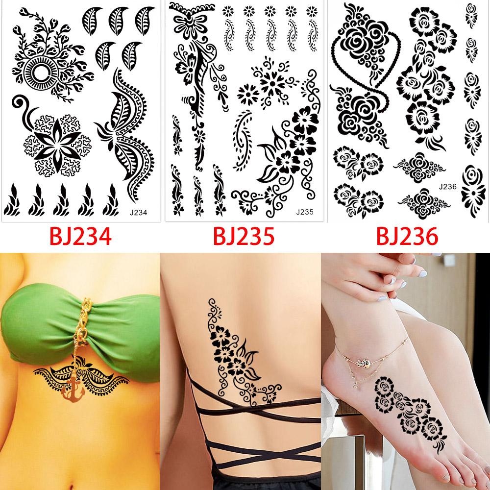 Henna Lace Bracelet Temporary Tattoo Sticker