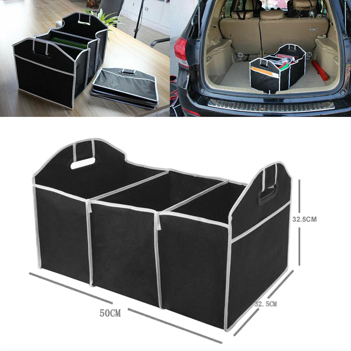 Car Storage Collapse Bin Bag Trunk Caddy Organizer Great for Ford Hyundai Auto