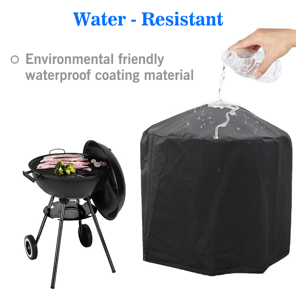 Waterproof Outdoor Heavy Duty Cart BBQ Cover Patio Gas Grill Cover 4 Sizes