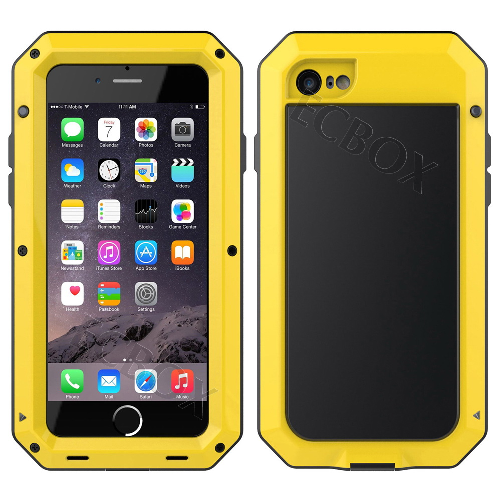 Extreme-Armor-Hybrid-Aluminum-Metal-Case-Shell-Tempered-Glass-For-Various-Phone