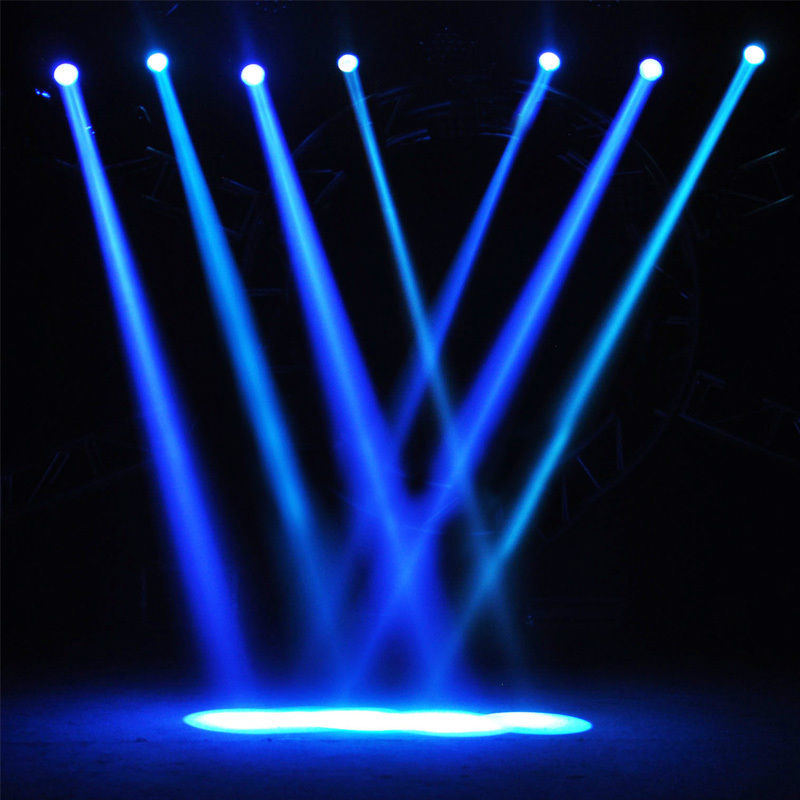 Stage Laser Light Beam DMX 4 Len Red Green Blue DJ Stage ...