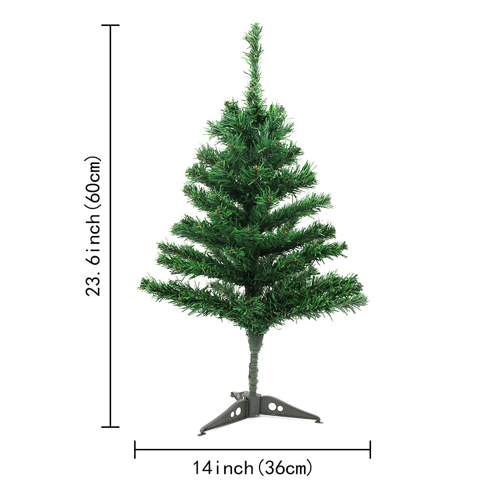 60cm mini christmas tree artificial christmas tree fake xmas tree new year decor - Mini Fake Christmas Tree