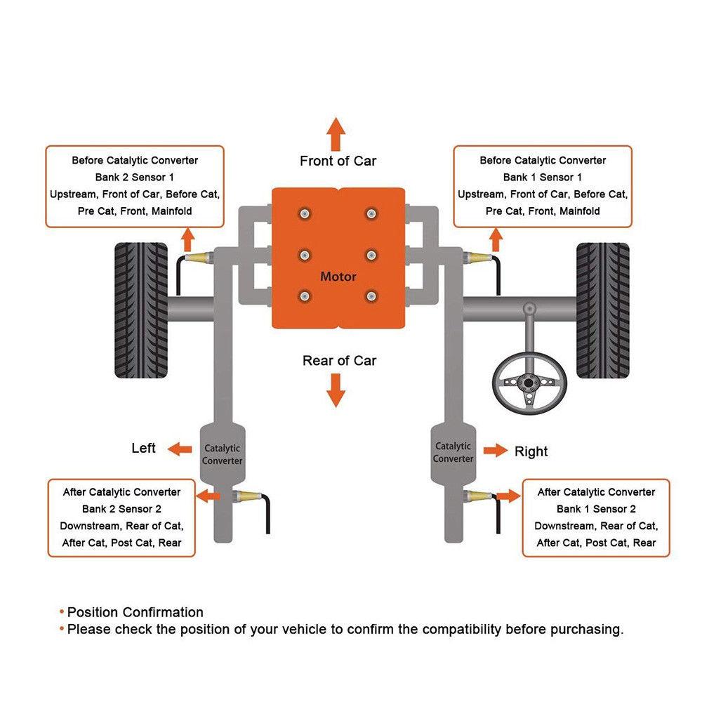 Oxygen Sensor Air Fuel Ratio For 2007-2013 Toyota Camry V6