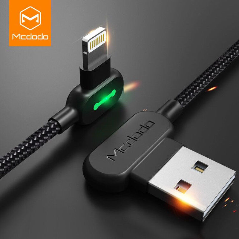 Mcdodo Lightning Usb Cable For Iphone Xs Max X 8 7 6 5 Se Smart Led Charge Cable Ebay