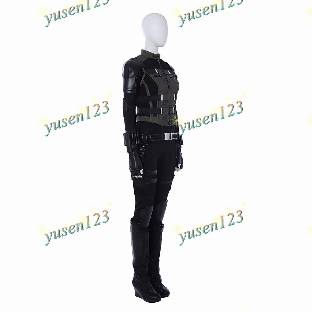 Avengers Infinity War Black Widow Halloween Cosplay Costume Shoes Accessories