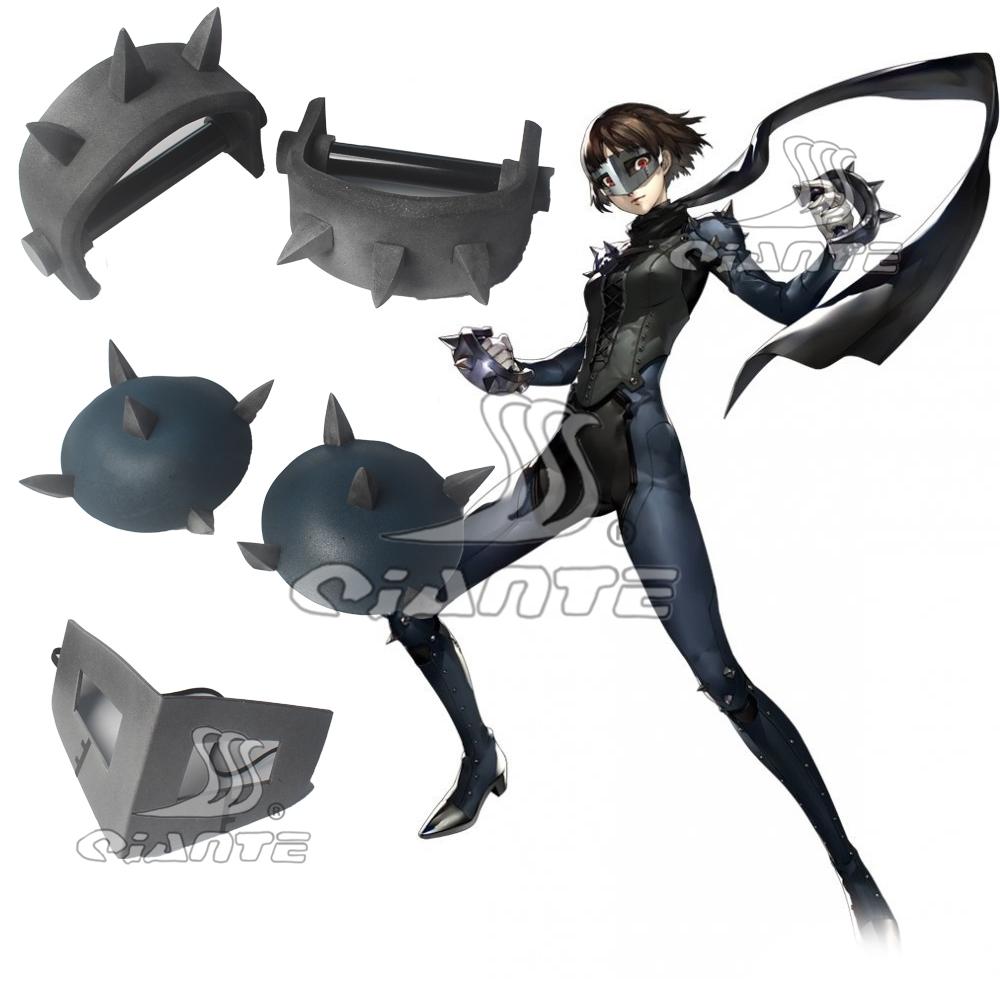Persona 5 Queen Makoto Niijima Two Tekko Cosplay Weapon Prop