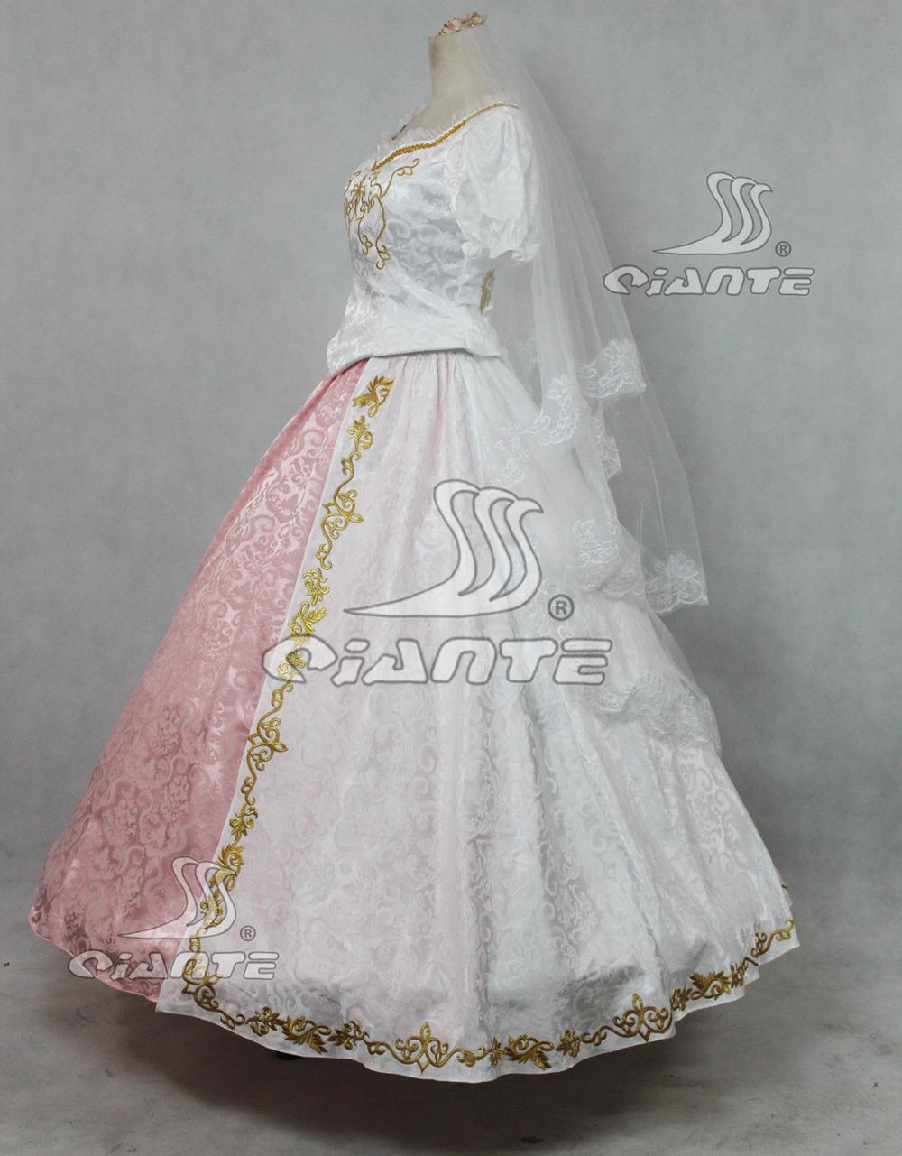 Maleficent Princess Aurora Costume Fancy Dress with Veil Comic Con ...