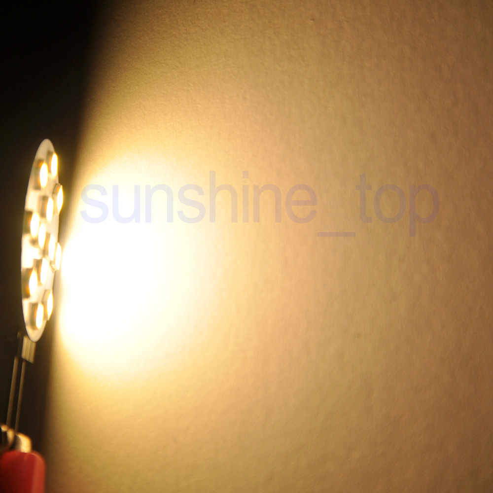 4x-G4-12-SMD-3030-LED-Lampe-Birne-Spot-Licht-Leuchte-warmweiss-450LM-12-24V-3-5W Indexbild 6