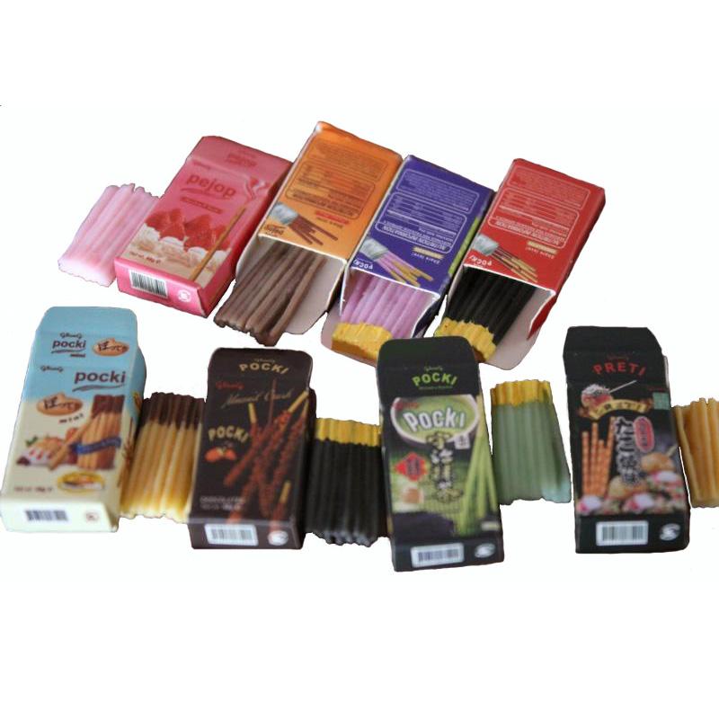 8Pcs//Set Chocolates Miniature Food Models Dollhouse Accessories IC