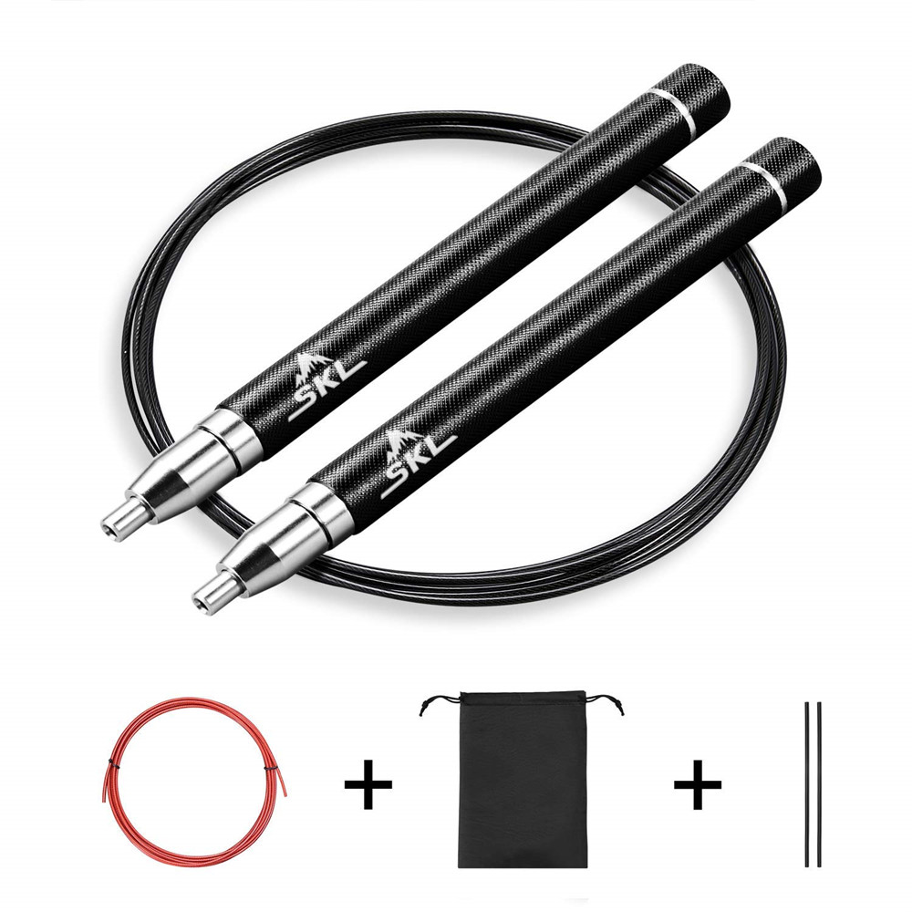 Details about SKL High Speed Jump Rope Professional Aluminum Lightweight 360 Degree Spin US