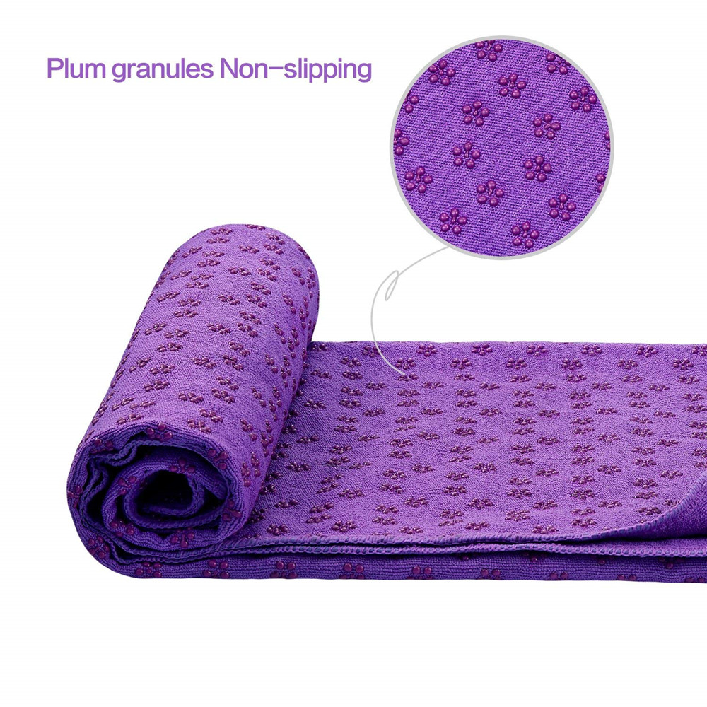 Yoga Mat Towel Microfiber No-Slip Cover Towels Sweat