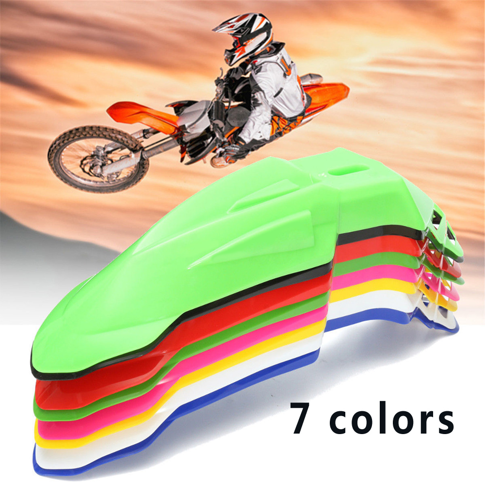 Top Front Fender Mudguard For motorcycle Pit Dirt Bike Motocross Supermoto