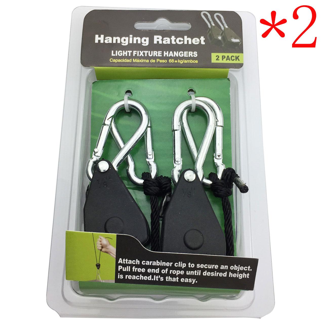 Hydroponics Facile Léger Yoyo Hanger cliquet éclairage Filtres Hanger
