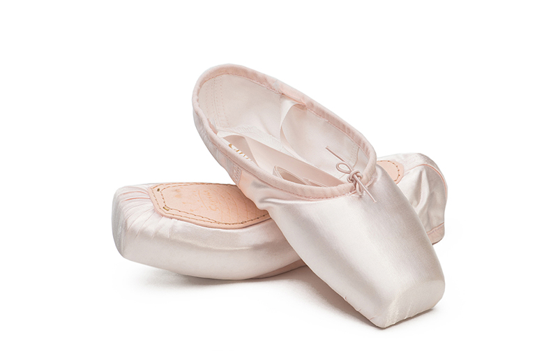 Lady Professional Ballet Dance Toe Shoes Lady Lace Up Satin Ribbon Pointe Shoes