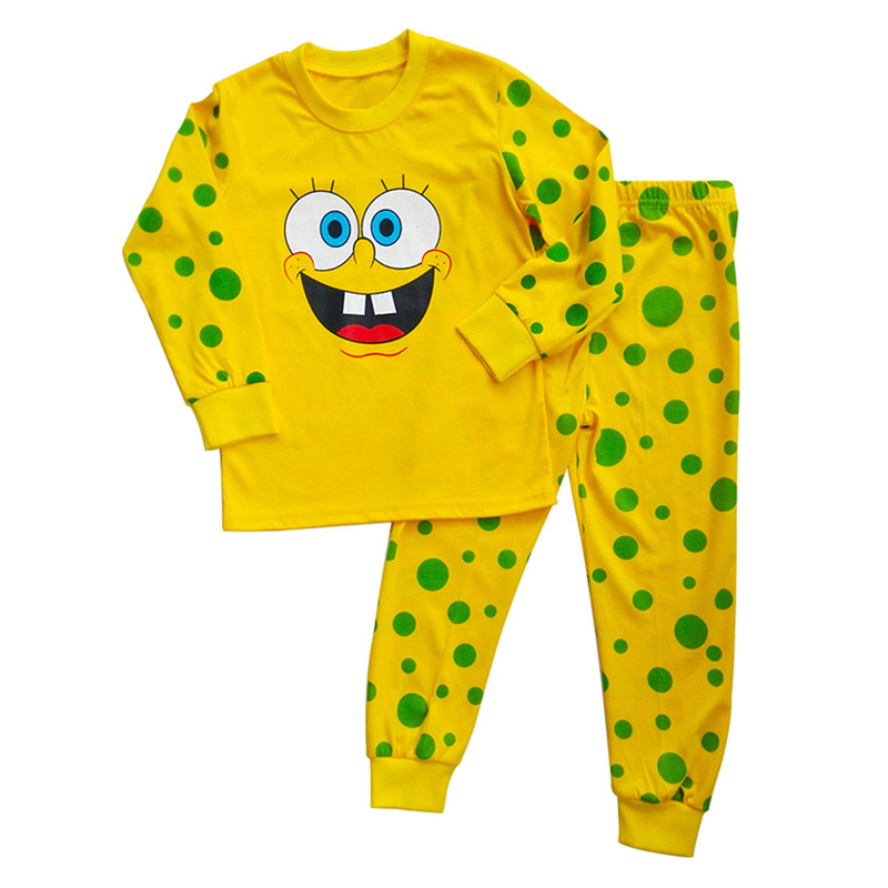 spongebob square kids toddler baby clothes t shirt pants sleepwear