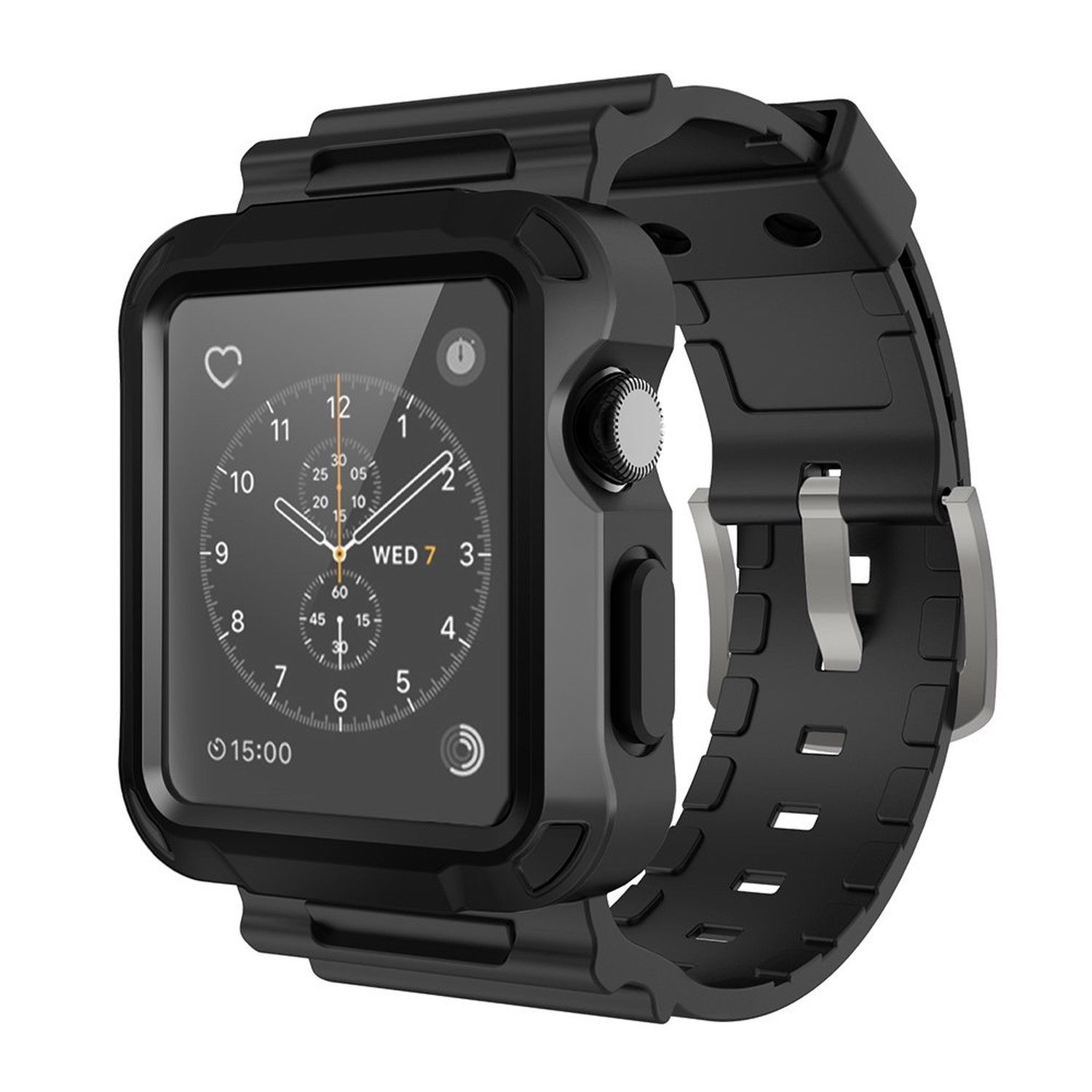 iWatch Rugged Protective Case Cover with Wrist Strap Bands ...