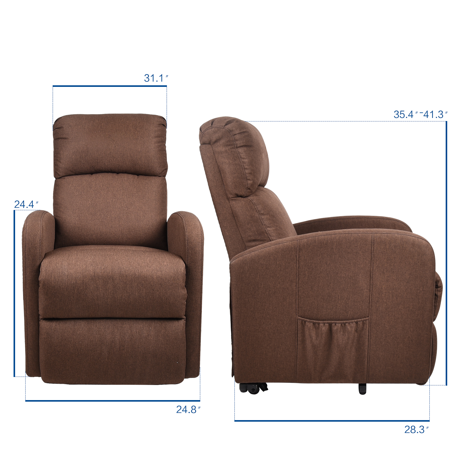 Electric Power Lift Massage Chair Recliner Sofa Heat Vibration Couch